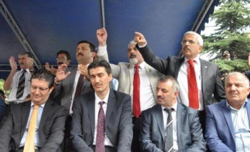 Bursa'daki Eylem Yeri...