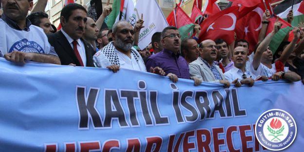 Büyük Gazze Yürüyüşüne 10 Binlerce Kişi Katıldı