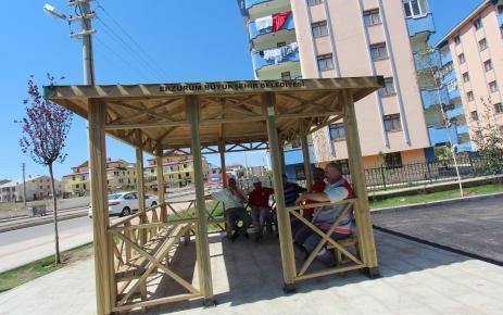 Büyükşehir Belediyesi, Alparslan Türkeş Bulvarı'na kamelya yaptırıyor