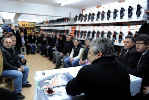 Büyükşehir Belediyesi Genel Sekreteri, Ali Çetinkaya Caddesi'ni inceledi