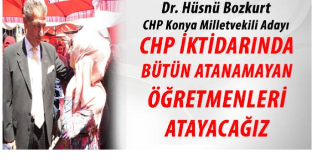 CHP'li Vekilden Atama Sözü