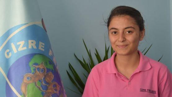 Cizre'de okuyan liseliden uluslararası başarı