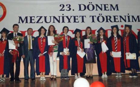 Denizli Anadolu Lisesi 23. dönem mezunlarını uğurladı