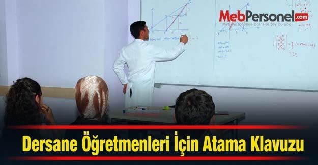 Dershane Öğretmenleri  Atama Kılavuzu 2015