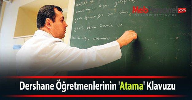 Dershane Öğretmenlerinin 'Atama' Klavuzu