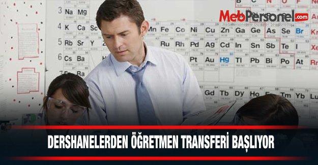 DERSHANELERDEN ÖĞRETMEN TRANSFERİ BAŞLIYOR