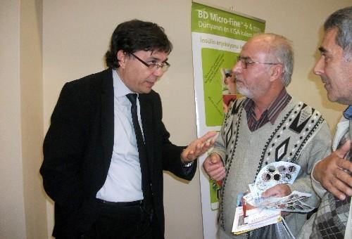 Doktorlar, 'Diyabeti Bilelim Harekete Geçelim' konulu konferansta konuştu