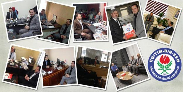 EBS Gazete ve Televizyonların Ankara Bürolarını Ziyaret Etti