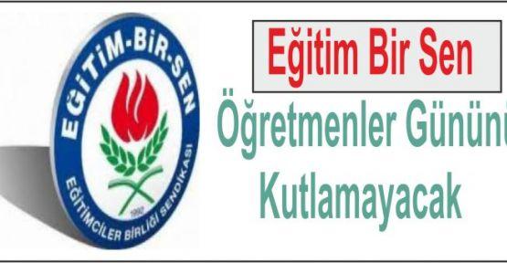EBS'li öğretmenler, 24 Kasım Öğretmenler Günü'nü kutlamayacak