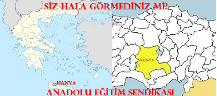 EBS'liler Hanya'yı ve Konya'yı Görmeli