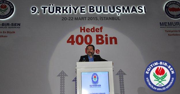 Eğitim Bir Sen '400 bin üye hedefi' ile toplandı