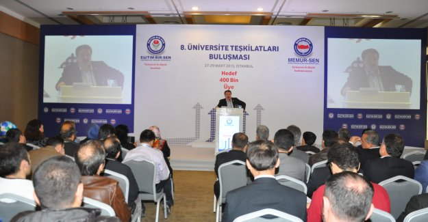Eğitim Bir Sen 8. Üniversite Buluşması Sonuç Bildirgesi