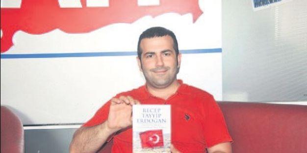 Erdoğan hakkındaki ilk İngilizce kitabı öğretmen yazdı