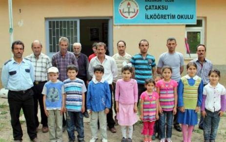Erzurum'da Okul Erken Kapandı!