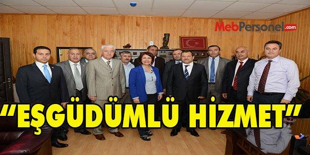 "'EŞGÜDÜMLÜ HİZMET"""