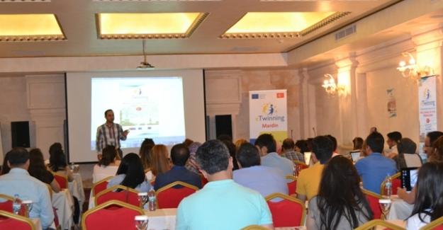 Etwinning bölgesel proje hazırlama çalıştayı Mardin'de  yapıldı