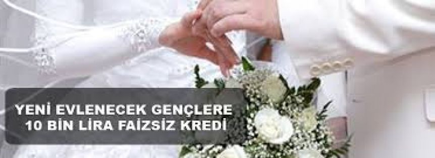 Evlilik Kredisi Devlet Destekli Başvuru 2014