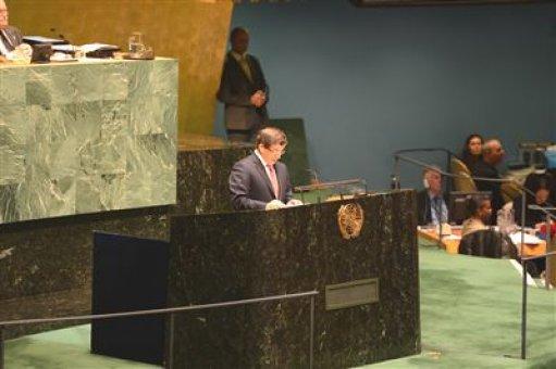 Filistin BM'de üye olmayan gözlemci devlet statüsü kazandı (1)