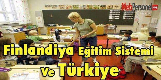 Finlandiya Eğitim Sistemi Ve Türkiye