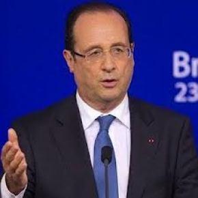 Fransa Cumhurbaşkanı Hollande: Türk hükümetinin tavrını takdirle karşılıyorum