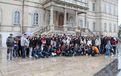 Gemerek Anadolu Öğretmen Lisesi öğrencileri Sivas'ı gezdi