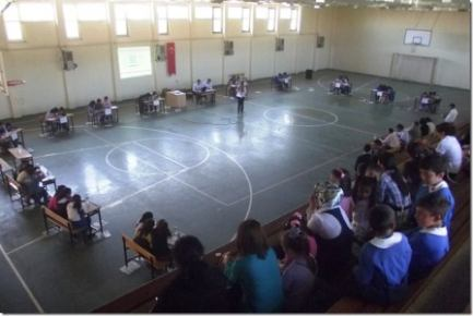 Gemerek'te okullar arası bilgi yarışması yapıldı