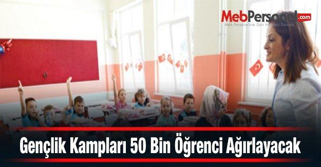 Gençlik Kampları 50 Bin Öğrenci Ağırlayacak