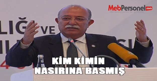 Genel Başkan Koncuk: KİM KİMİN NASIRINA BASMIŞ