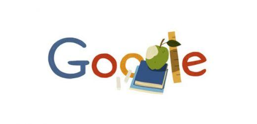 Google , Öğretmeler Gününü Özel Doodle ile kutladı