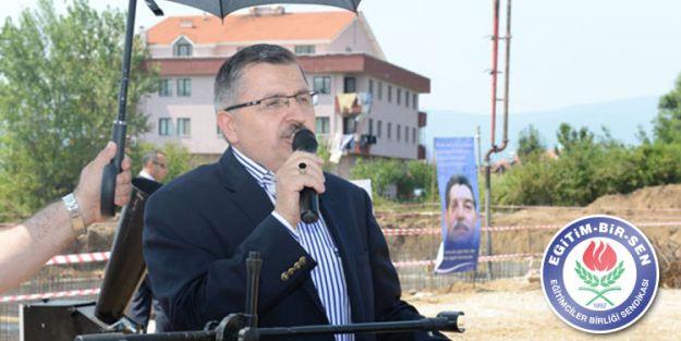 Gündoğdu, Mehmet Akif İnan İmam Hatip Ortaokulu Temel Atma Törenine Katıldı