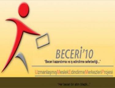 Hizmet ve tarım sektörlerinde istihdam için Beceri'10 Kursları başlıyor