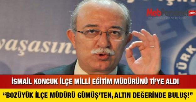 İlçe Milli Eğitim Müdüründen Skandal İstek..