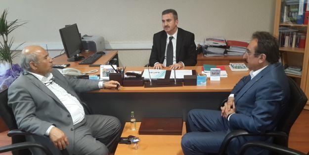 İletişim Grup başkanı  Muhammed Sadık Arslan'a hayırlı olsun ziyareti