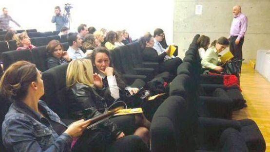 İngilizce öğretmenleri konferansta