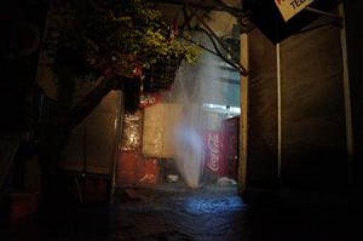 İSKİ borusu patladı, sokaklar dereye döndü (Özel)