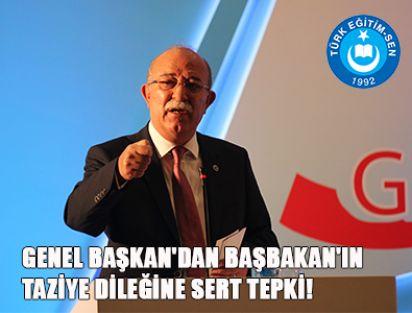İsmail KONCUK'dan BAŞBAKAN'IN TAZİYE DİLEĞİNE SERT TEPKİ!