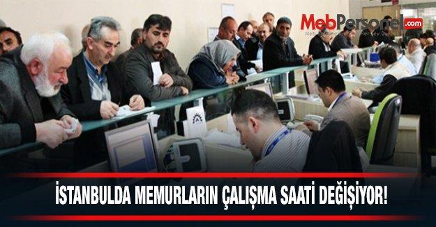 İstanbul#039;da memurların çalışma saatleri değişiyor