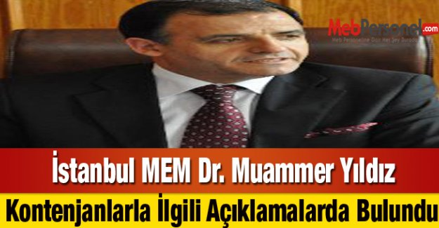 İstanbul MEMden Öğretmen Atamaları Kontenjan Açıklaması
