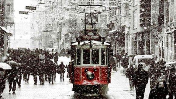 İstanbul'da Kar Yağışı Bekleniyor. Okullar Pazartesi Tatil Olacak Mı? (9 Şubat 2015)