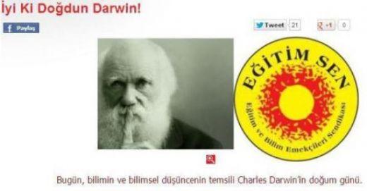 """İyi ki doğdun Darvin"""