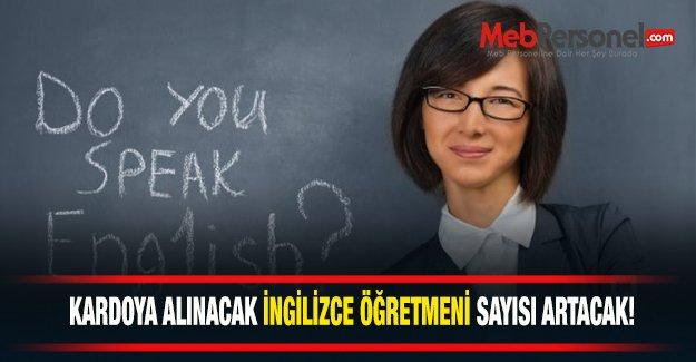 İngilizce Öğretmeni İhtiyacı Artacak