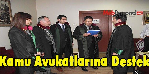 Kamu Avukatlarına Destek