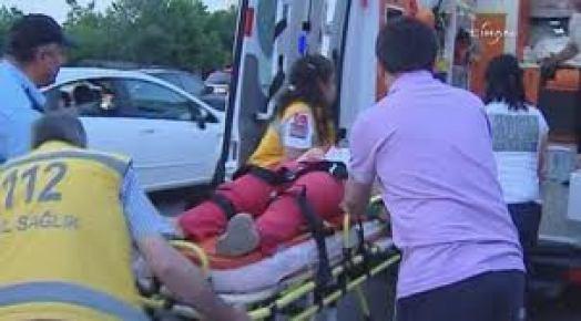 Kanal D çalışanları kaza geçirdi: 1 ölü, 2 yaralı
