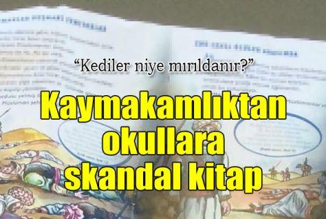 Kaymakamlıktan okullara skandal kitap