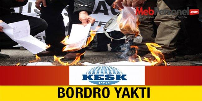 KESK, BORDRO YAKTI