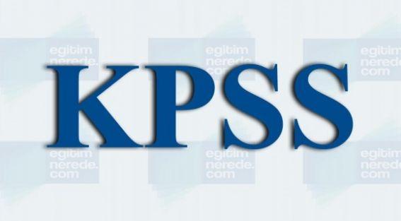 KPSS 2013/4 Yerleştirme Sonuçlarına Göre En Büyük En Küçük Puanlar