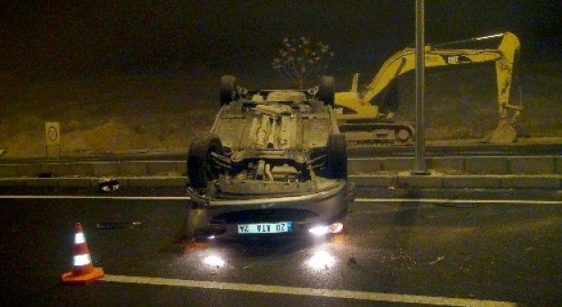 Kırşehir'de trafik kazası: 3 astsubay yaralı..