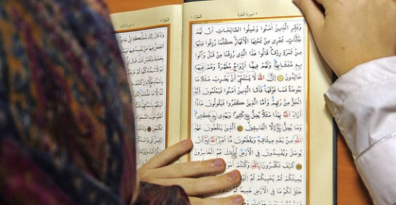 Kur'an müfredata böyle girdi...