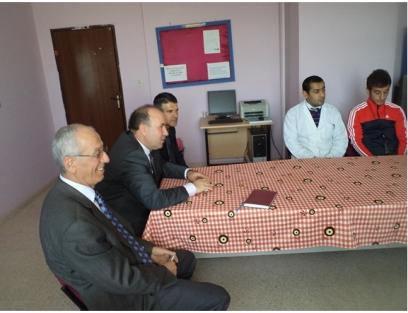 Kurtalan İlçe Mem  Gönül Elçileri Projesi sonuçlarını açıkladı
