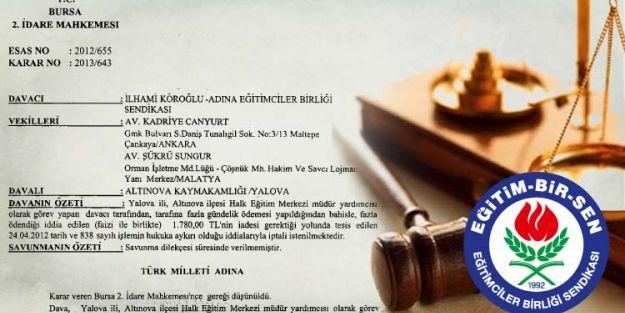 Mahkeme, Fazladan Ödenen Gündelik Tutarın Geri İstenmesi İşlemini Reddetti